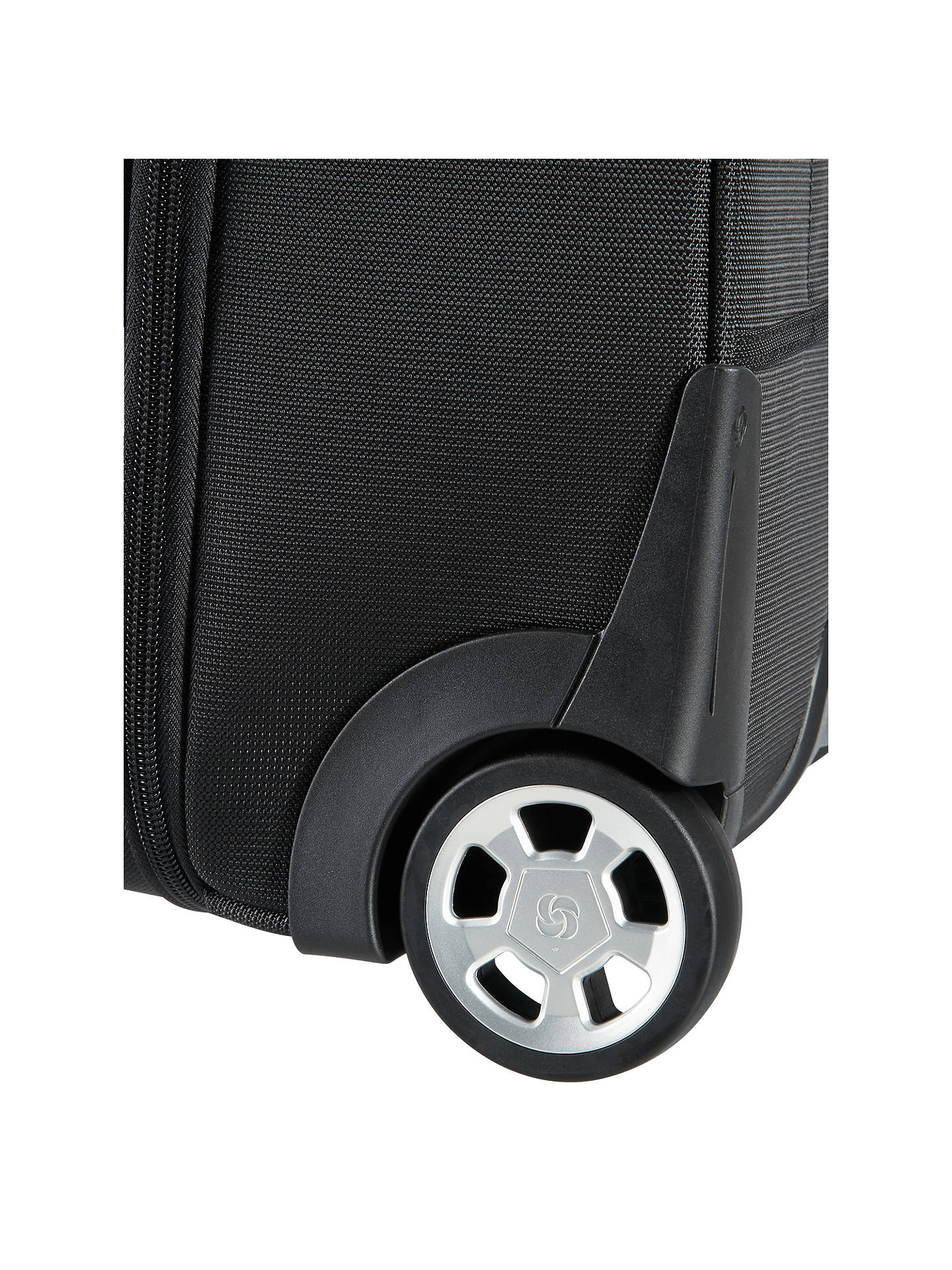 BuySamsonite XBR 40cm Rolling Tote Case, Black Online at johnlewis.com