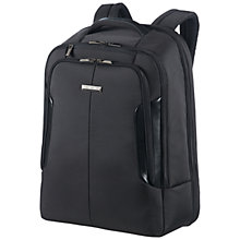 "Buy Samsonite XBR 17"" Laptop Backpack, Black Online at johnlewis.com"