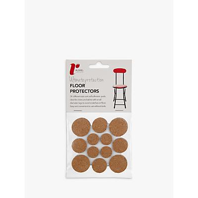 Russel Cork Floor Protectors Pack of 24