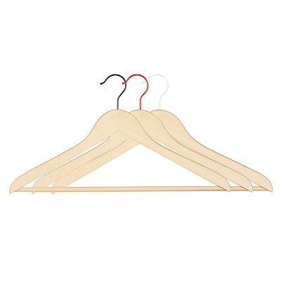 House by John Lewis Suit Hangers, Set of 3