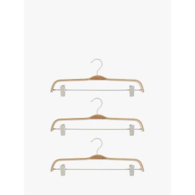 John Lewis & Partners Scandi Trouser Hangers, Set of 3