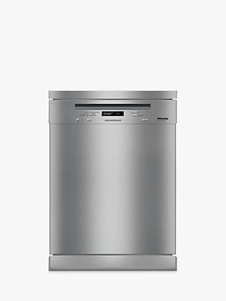 Miele G6730 SC Freestanding Dishwasher, Clean Steel