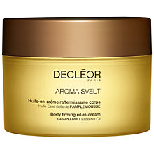 Buy Decléor Aroma Svelt Body Firming Oil-In-Cream, 200ml Online at johnlewis.com
