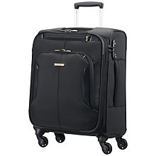 Buy Samsonite XBR Mobile 55cm 4-Wheel Office Cabin Case, Black Online at johnlewis.com
