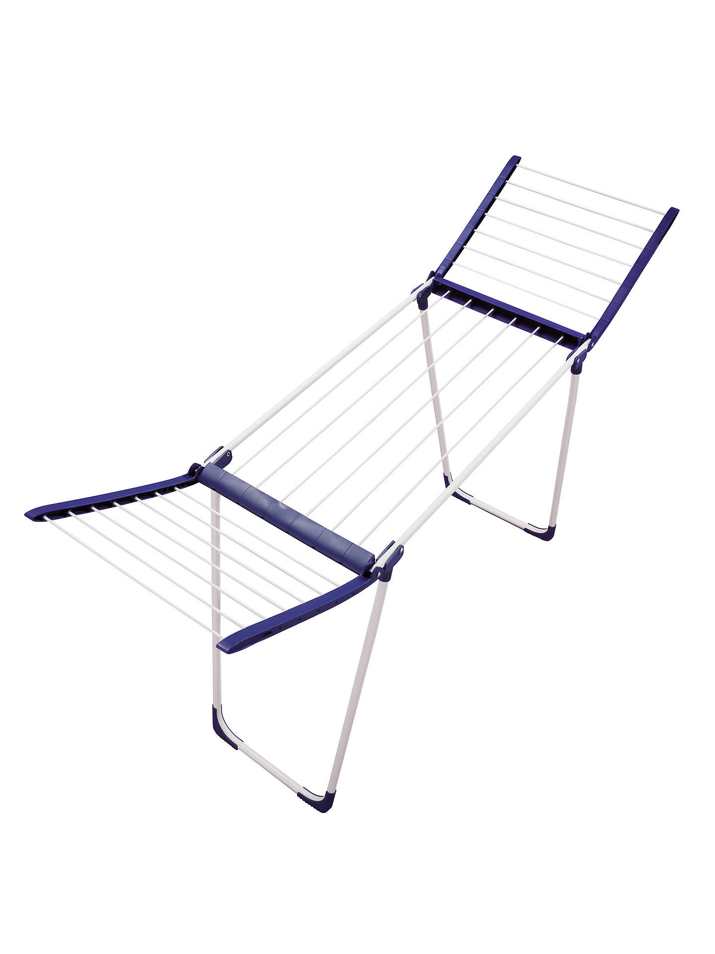 BuyLeifheit Pegasus 120 Bath Standing Clothes Airer Online at johnlewis.com