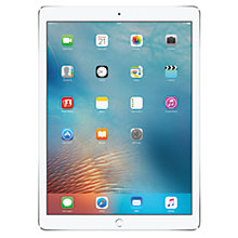 "Buy Apple iPad Pro, A9X, iOS, 12.9"", Wi-Fi & Cellular, 256GB Online at johnlewis.com"