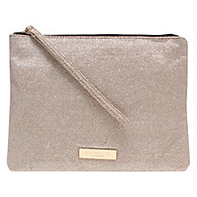 Buy Carvela Kollude Clutch Bag, Gold Online at johnlewis.com
