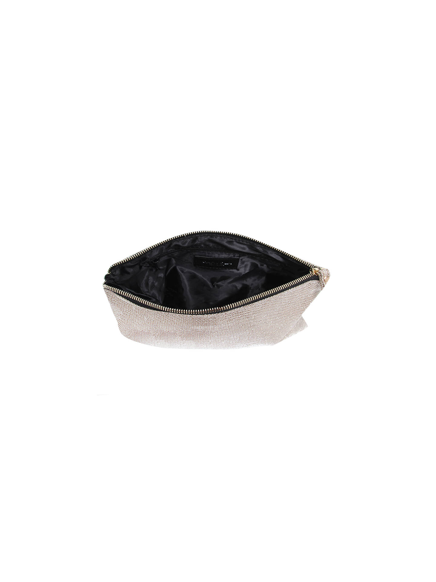 BuyCarvela Kollude Clutch Bag, Gold Online at johnlewis.com