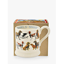 Buy Emma Bridgewater Year In The Country All Over Spaniel Half Pint Mug, Multi, 284ml Online at johnlewis.com