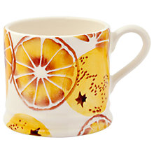 Buy Emma Bridgewater 'Oranges' Baby Mug, Orange, 200ml Online at johnlewis.com