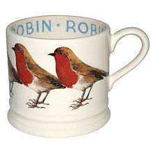 Buy Emma Bridgewater Robin Baby Mug, Multi, 140ml Online at johnlewis.com
