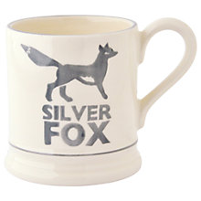 Buy Emma Bridgewater Silver Fox Half Pint Mug, Grey/White, 310ml Online at johnlewis.com