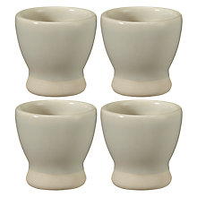 Buy John Lewis Croft Collection Amberley Egg Cups, Set 4 Online at johnlewis.com