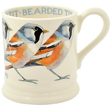 Buy Emma Bridgewater Year In The Country Bearded Tit Half Pint Mug, Multi, 284ml Online at johnlewis.com