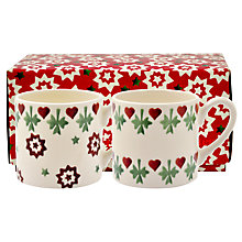 Buy Emma Bridgewater Joy Star Espresso Cup, Set of 2 Online at johnlewis.com