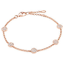 Buy Thomas Sabo Glam & Soul Sparkling Circles Bracelet Online at johnlewis.com