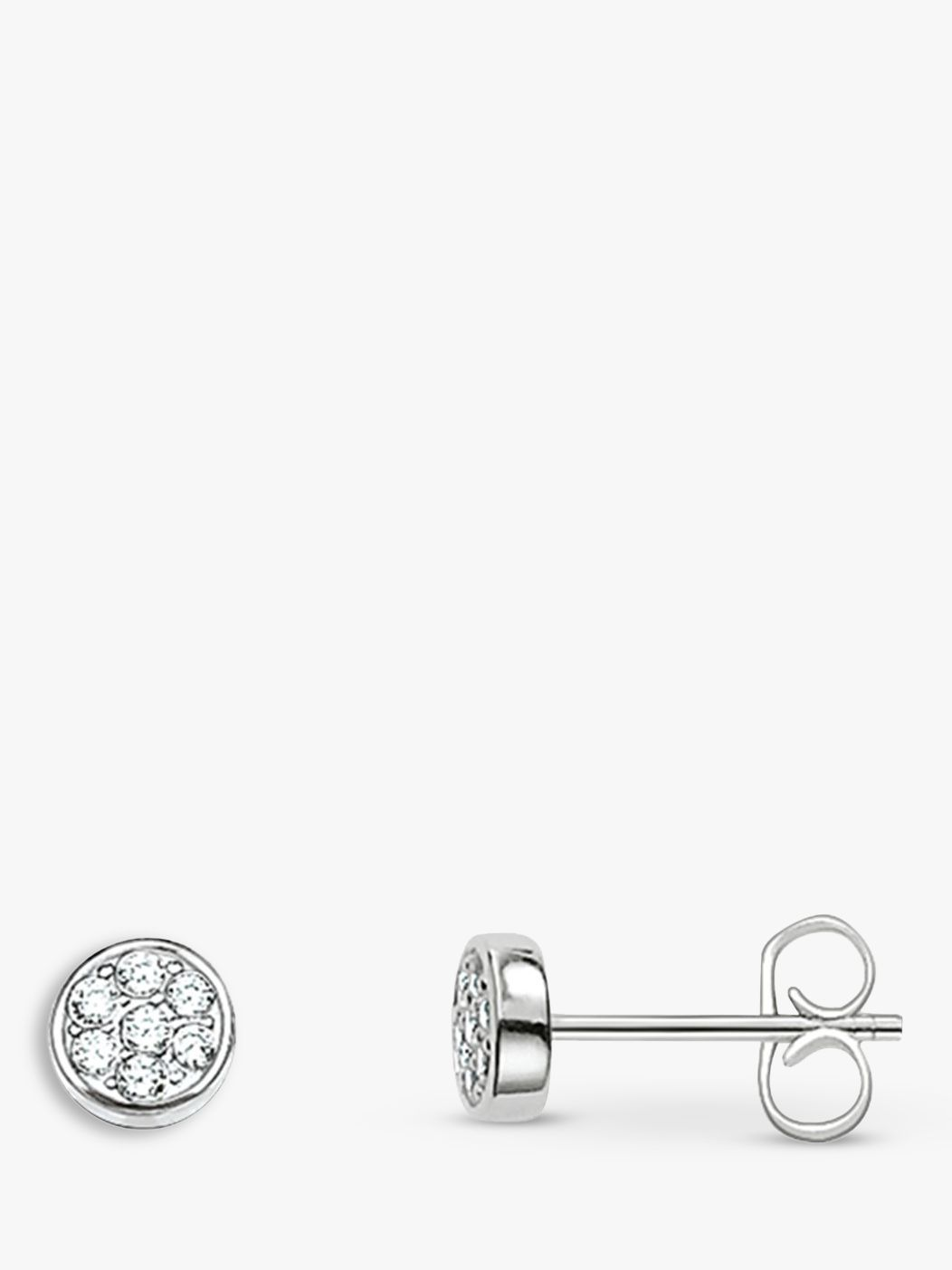 Thomas Sabo THOMAS SABO Sparkling Circles Stud Earrings