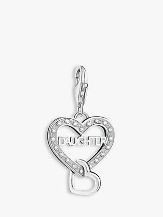 THOMAS SABO Charm Club Daughter Charm, Silver