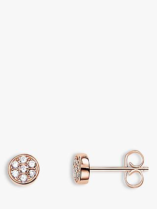 THOMAS SABO Sparkling Circles Stud Earrings