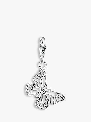 THOMAS SABO Charm Club Cut Out Butterfly Charm, Silver