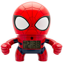 Buy BulbBotz Spider-Man Alarm Clock Online at johnlewis.com