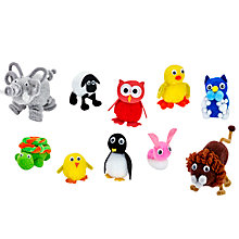 Buy John Lewis Make Your Own Pom Pom Animals Kit Online at johnlewis.com