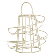 Buy John Lewis Egg Run Storer, Cream Online at johnlewis.com
