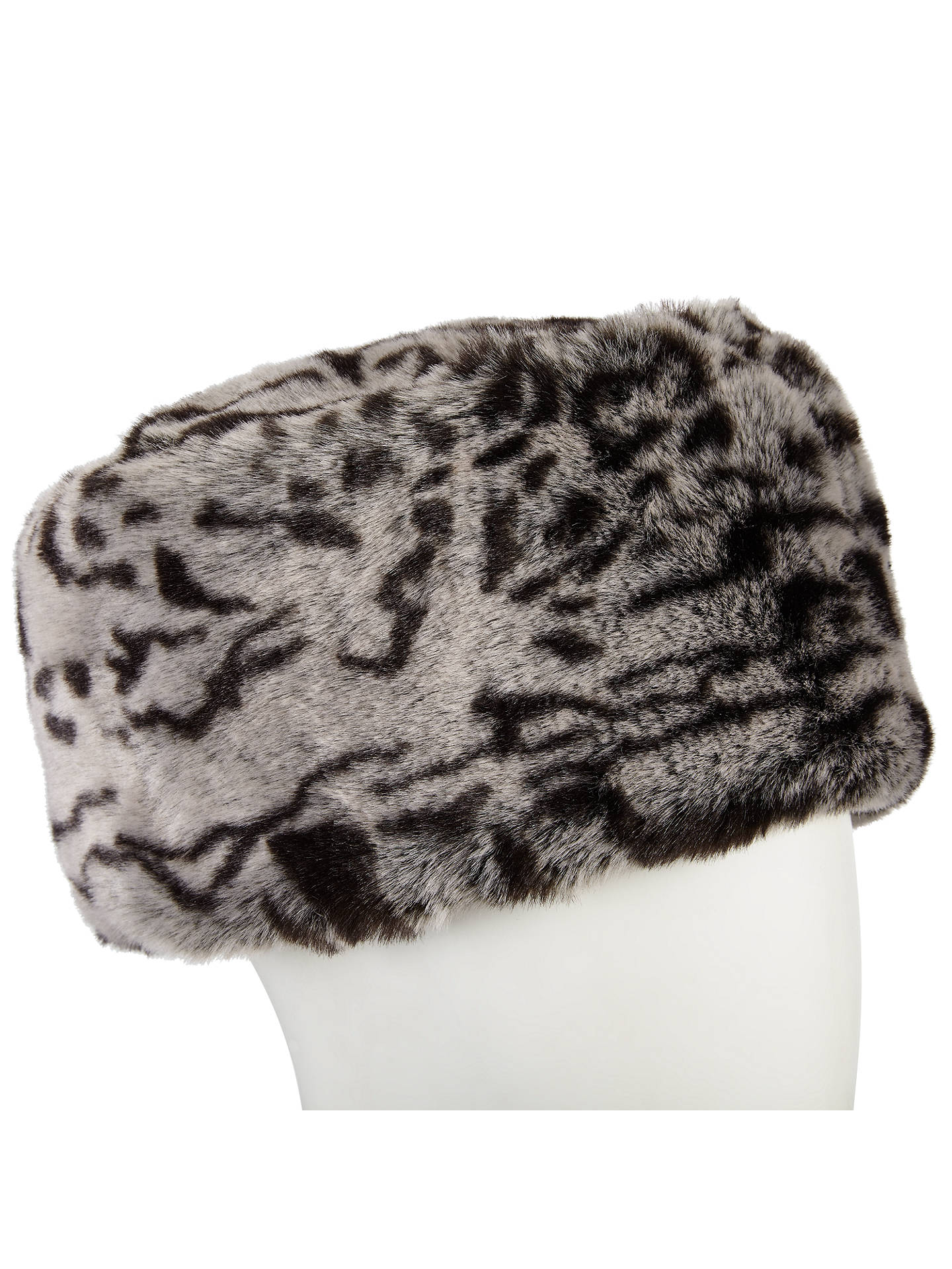 cb6bcc716fed9 Buy John Lewis Animal Print Faux Fur Cossack Hat
