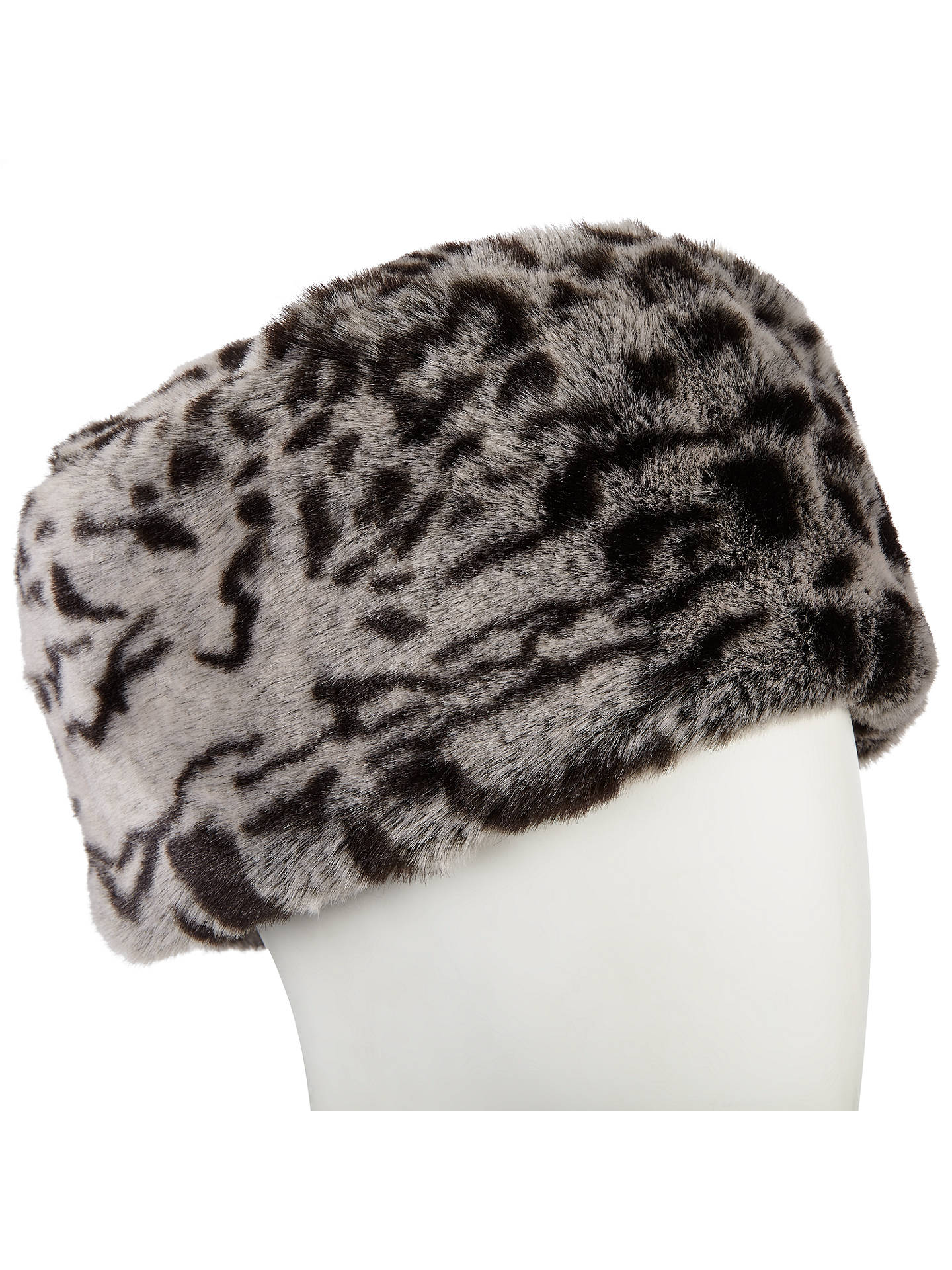 93714775f2bf2 ... Buy John Lewis Animal Print Faux Fur Cossack Hat