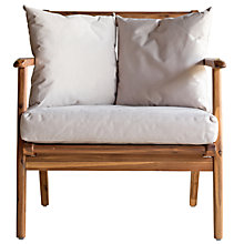 Buy John Lewis Fyn Lounging Garden Armchair, FSC-certified (Acacia) Online at johnlewis.com