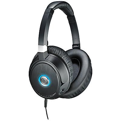 Audio-Technica ATH-ANC70 QuietPoint Noise-Cancelling On-Ear Headphones, Black