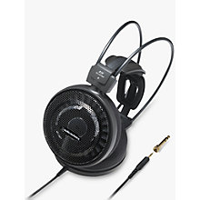 Buy Audio-Technica ATH-AD700X Audiophile Open-Air Over-Ear Headphones, Black Online at johnlewis.com