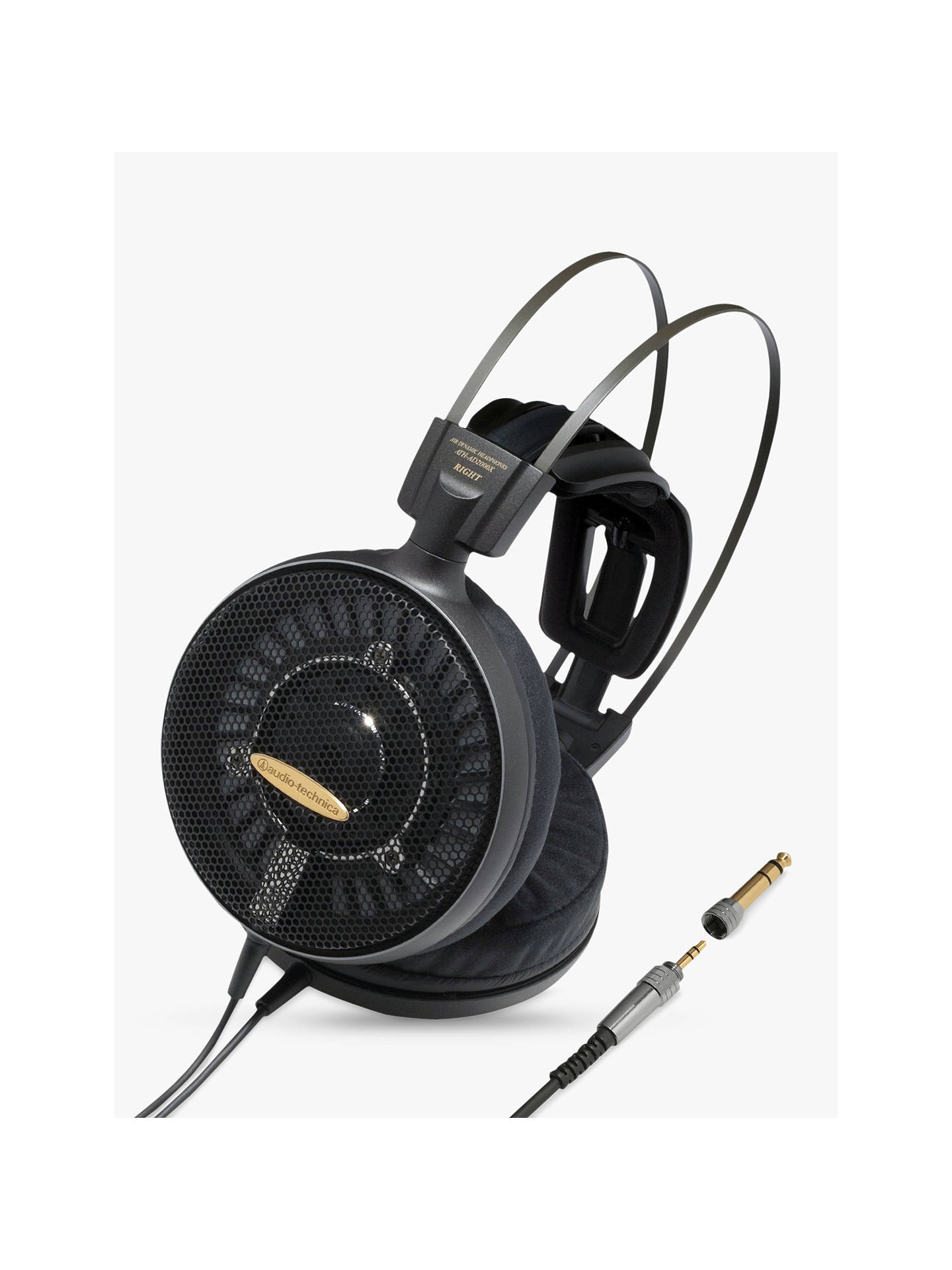 BuyAudio-Technica ATH-AD2000X Audiophile Oper-Air Over-Ear Dynamic Headphones With High-Resolution Audio Online at johnlewis.com