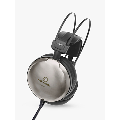 Image of Audio-Technica ATH-A2000Z Art Monitor Closed-Back Dynamic Over-Ear Headphones, Titanium Silver