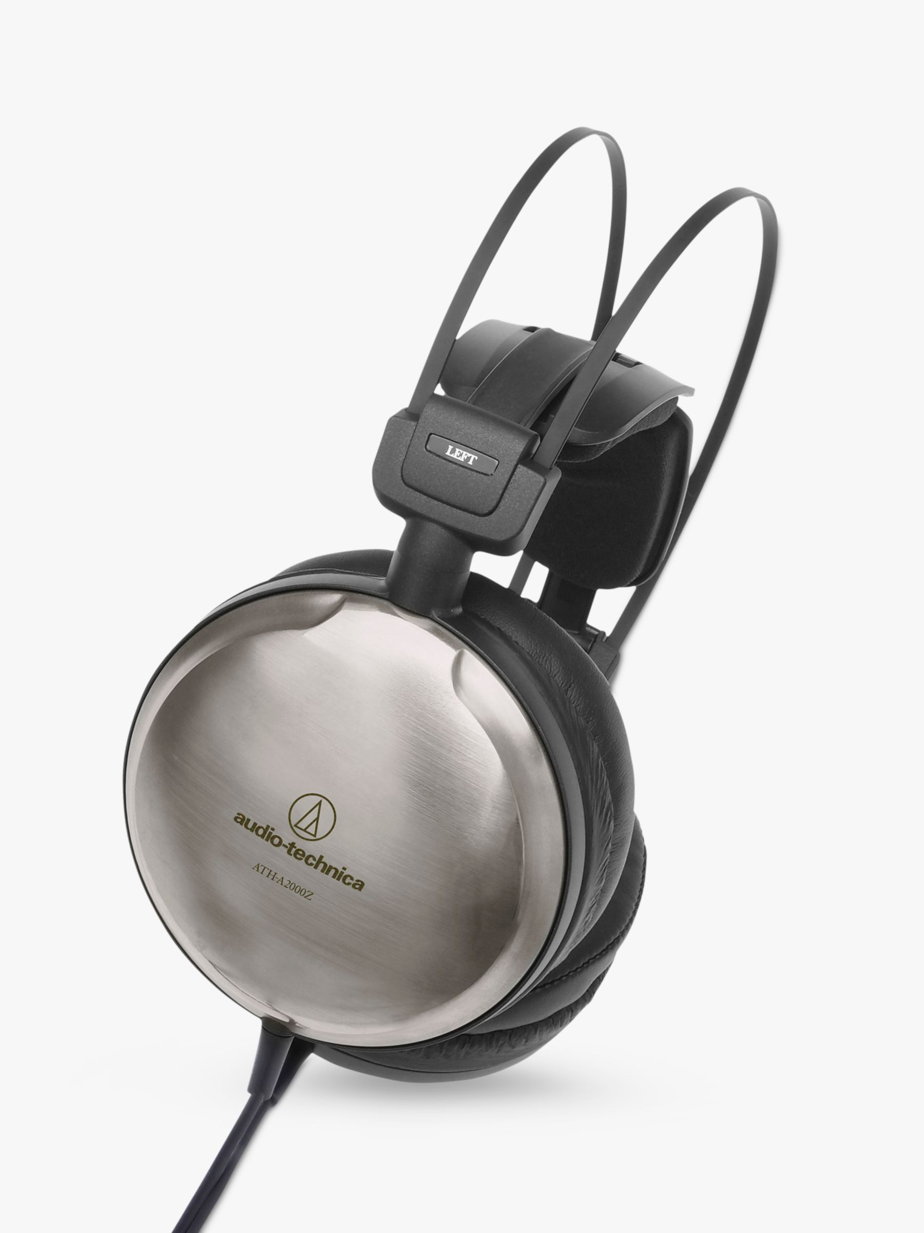 Audio-Technica Audio-Technica ATH-A2000Z Art Monitor Closed-Back Dynamic Over-Ear Headphones, Titanium Silver