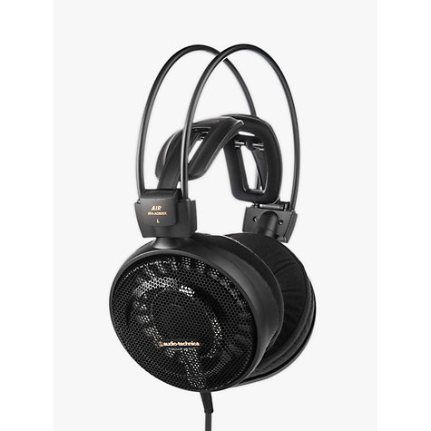 Buy Audio-Technica ATH-AD900X Audiophile Open-Air Over-Ear Headphones, Black Online at johnlewis.com