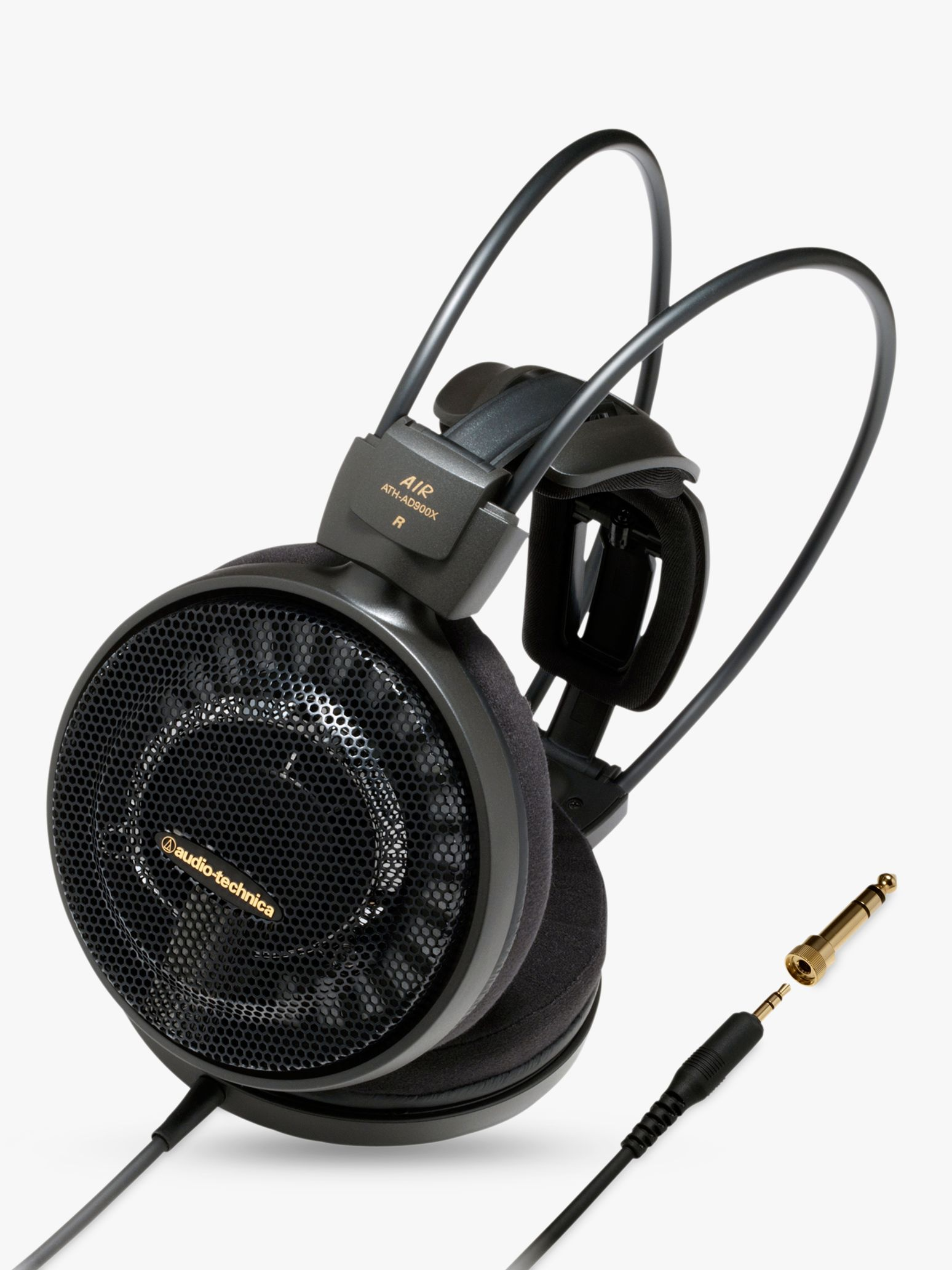 Audio-Technica Audio-Technica ATH-AD500X Audiophile Open-Air Over-Ear Headphones, Black