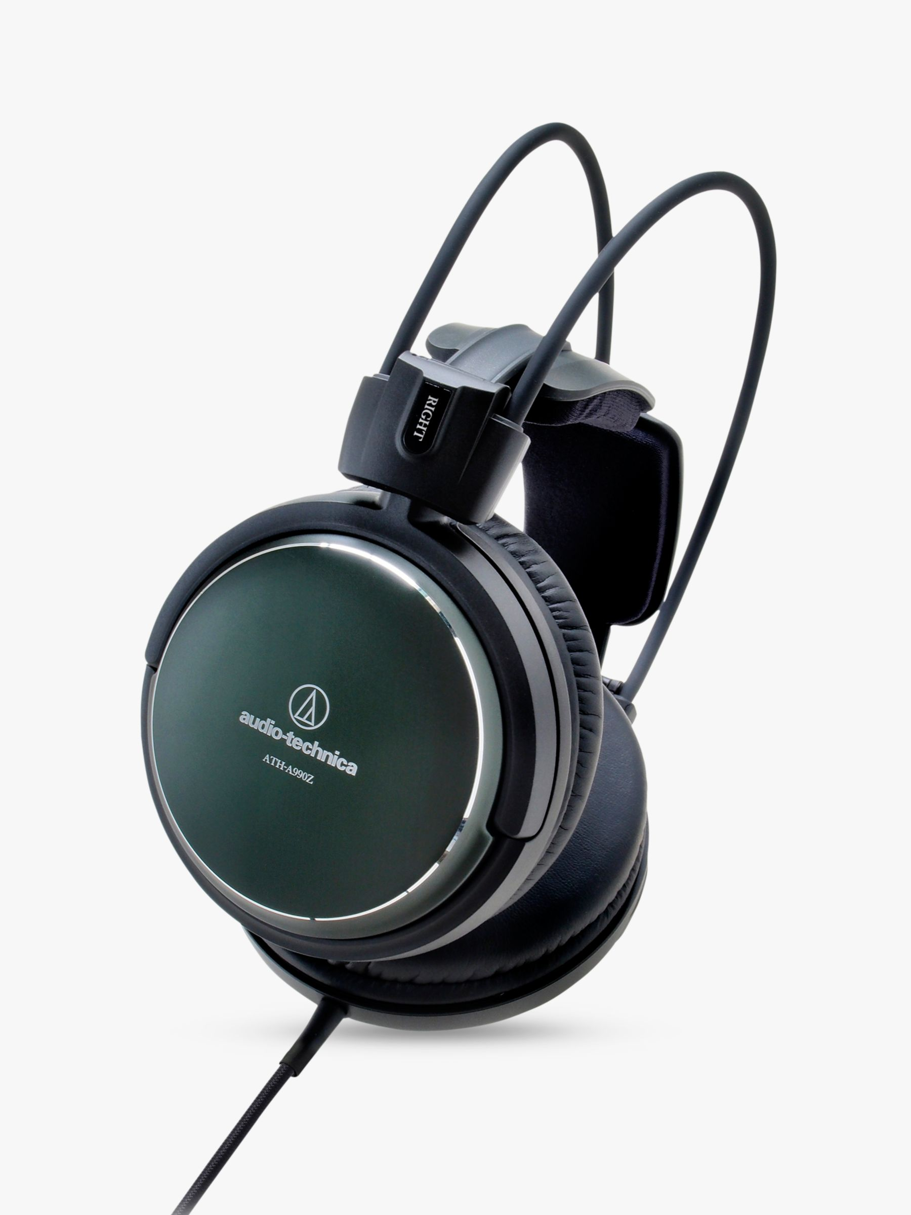 Audio-Technica Audio-Technica ATH-A990Z Art Monitor Over-Ear Closed-Back Dynamic Headphones, Green