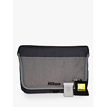 Buy Nikon DSLR Accessory Kit With Carry Case, Lens Cleaning Cloth & Spare Battery Online at johnlewis.com