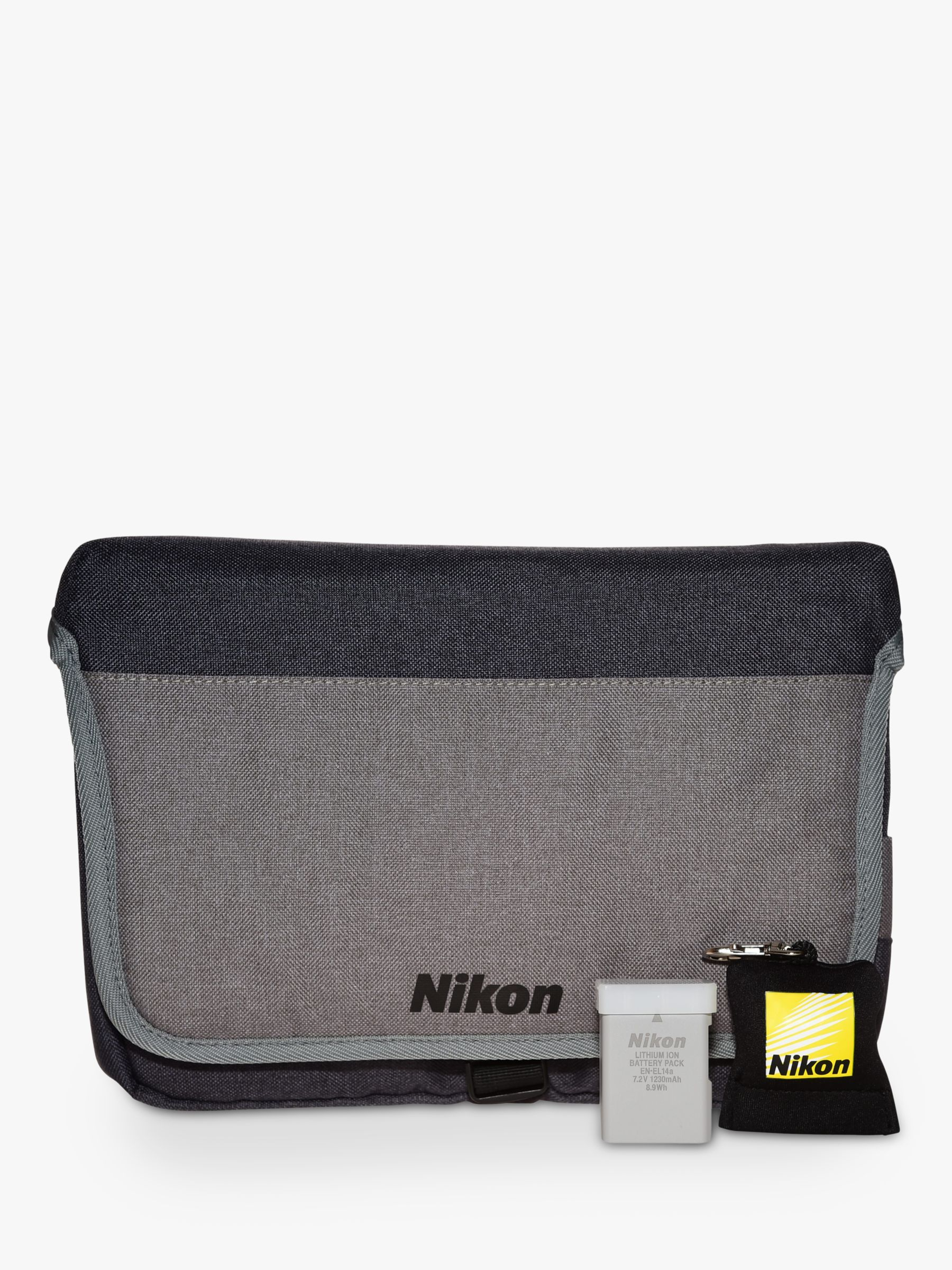 Nikon Nikon DSLR Accessory Kit With Carry Case, Lens Cleaning Cloth & Spare Battery