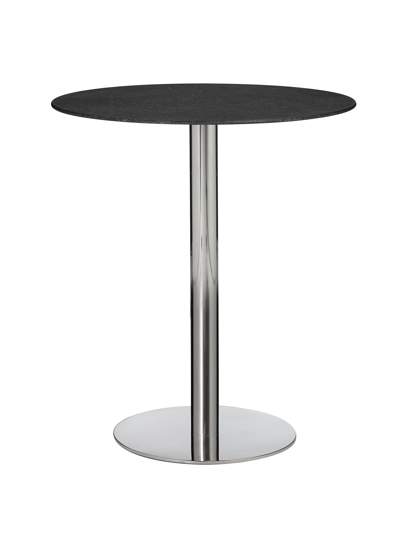 Buy john lewis enzo stone effect 2 seater glass top dining table black online at