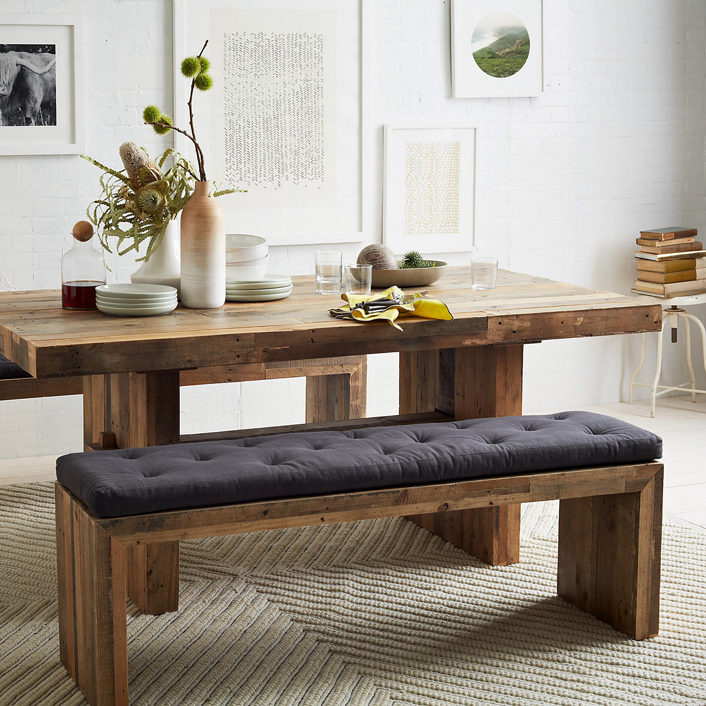 ... Buy west elm Emmerson 6 Seater Dining Table Online at johnlewis.com ...