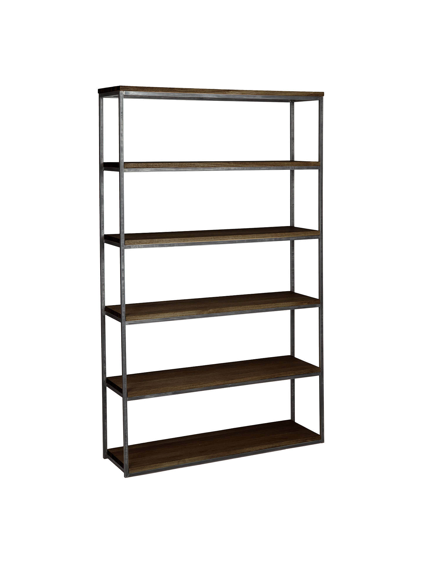 40cbb6d0d34f Buy John Lewis & Partners Calia Tall Wide Shelving Unit, Dark Online at  johnlewis.