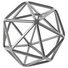 Buy west elm Silver Octahedron, Large Online at johnlewis.com