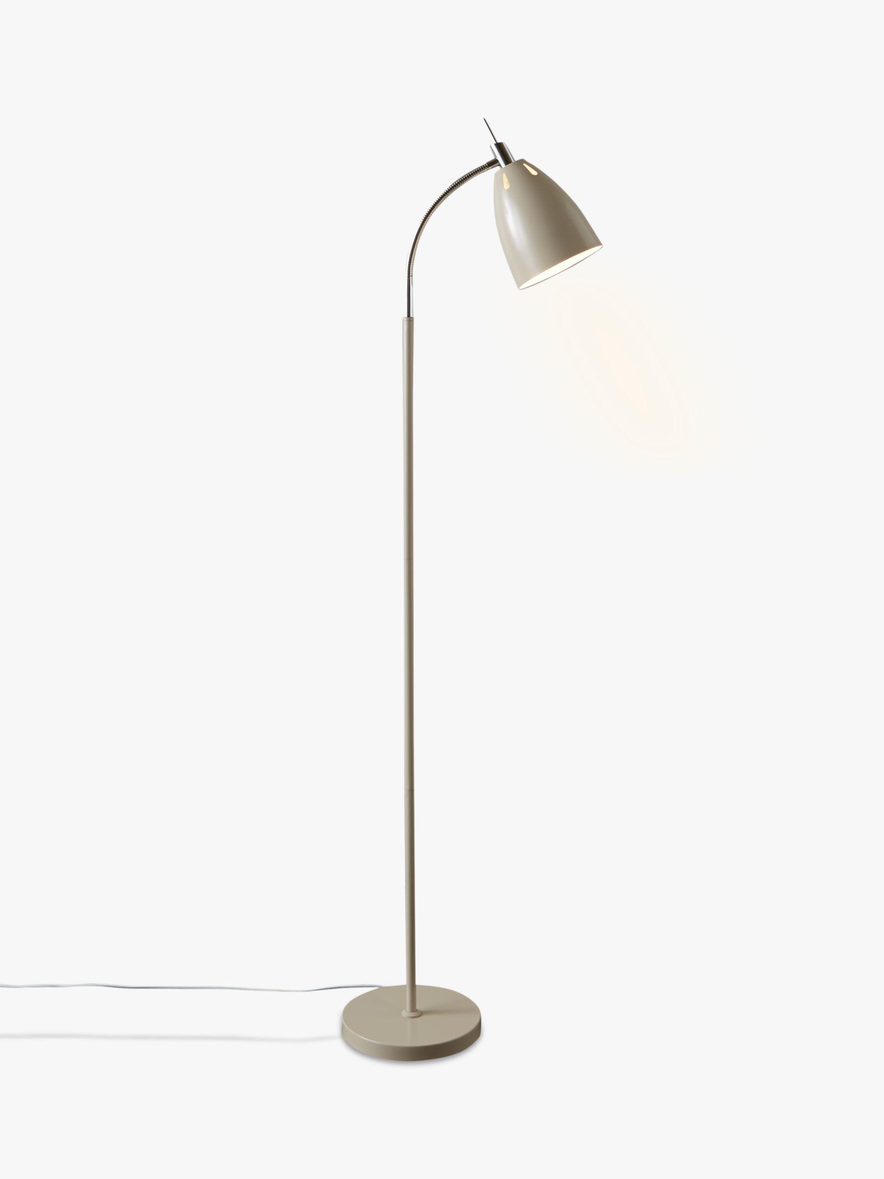 John Lewis Neil LED Floor Lamp Taupe