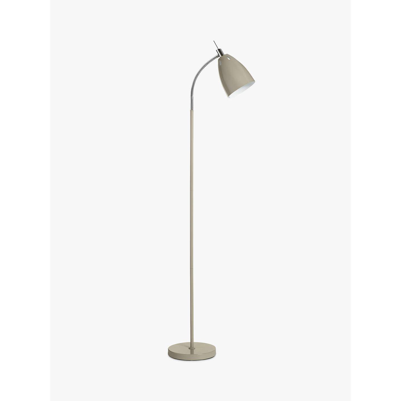 John Lewis Neil LED Floor Lamp, Taupe at John Lewis