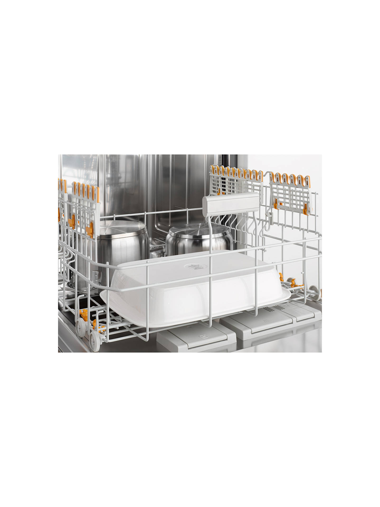 Buy Miele G6730 SCi Semi-Integrated Dishwasher, Havana Brown Online at johnlewis.com