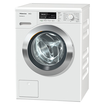 Miele WKF 121 Freestanding Washing Machine, 8kg Load. A+++ Energy Rating, 1600rpm Spin, White