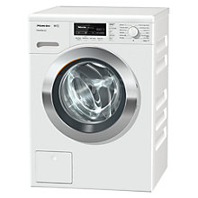 Buy Miele WKF 121 Freestanding Washing Machine, 8kg Load. A+++ Energy Rating, 1600rpm Spin, White Online at johnlewis.com