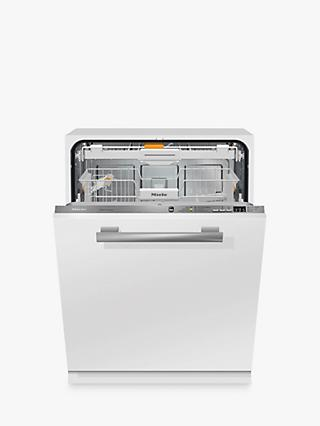 Miele G6660 SCVi Fully Integrated Dishwasher, Clean Steel